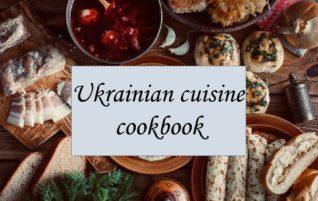 Ukrainian cuisine cookbook